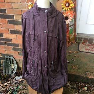 MAURICES WOMENS ANORAK JACKET SZ LARGE